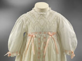 Christening gown, designer unknown