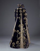 Embroidered velvet coat, Marshall & Snelgrove Ltd