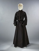 Mourning dress, designer unknown
