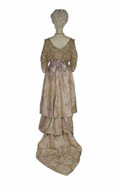 Evening dress, designer unknown