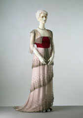 Evening dress, C.F. Worth