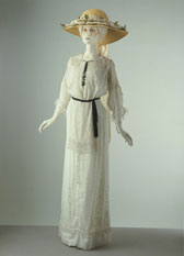 Summer day dress, designer unknown