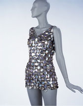 Evening mini-dress, Paco Rabanne