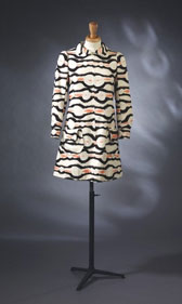 Dress and shorts, Emmanuel Ungaro