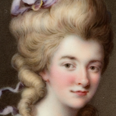 Georgiana, Duchess of Devonshire. Museum no. Loan:Gilbert.263-2008