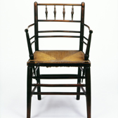 Sussex armchair by Philip Speakman Webb (attrib.), England