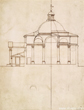 Design for St Stephen Walbrook, Sir Christopher Wren