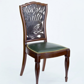 Chair designed by A H Mackmurdo, England