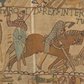 Bayeux Tapestry (Battle of Hastings, Scene 6) Showing the Death of Harold
