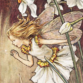 Cicely Mary Barker (1895–1973), Illustration of the Narcissus Fairy for Flower Fairies of the Garden