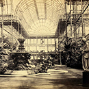 Philip Henry Delamotte, Photograph of the Interior of Crystal Palace at Sydenham