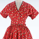 Dress and jacket, Horrockses Fashions, about 1955