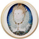 Nicholas Hilliard, portrait of Elizabeth I