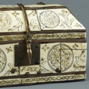 Casket with birds and roundels