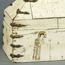 Casket with Christian figures