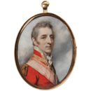 Richard Cosway, portrait of Arthur Wellesley