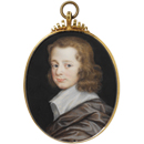Richard Gibson, portrait of an unknown boy