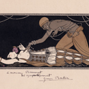 Ida Rubinstein and Vaslav Nijinsky print