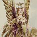 Costume design for the Angel of Wealth