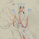 Costume design for 'Asia'