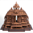Composite model including details from medieval Hindu temples near Mysore
