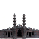 Model of Miyan Khan Chishti's Mosque, Ahmadabad