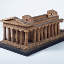 Model of the Temple of Concord, Agrigento, Sicily