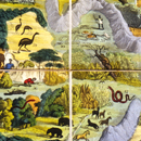 Anonymous, 'Wallis's New Game of Wanderers in the Wilderness', 1818-47
