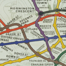 Poster map of the London Underground, anonymous