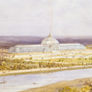 Owen Jones, Perspective view for an exhibition building at St Cloud