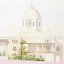Owen Jones, 'Design for a garden pavilion in Cairo for the Governor of Egypt (elevation view)'
