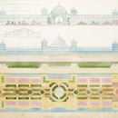 Owen Jones, Design for an exhibition building at St Cloud