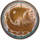 Tin-glazed earthenware bowl