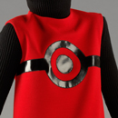 'Cosmos',  tunic and sweater, Pierre Cardin, 1967