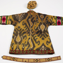 Costume worn by Adolph Bolm as the Polovtsian Chief in Prince Igor