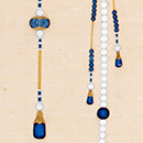 Drawing of a court necklace worn by the Emperor