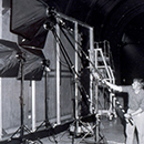 Set-up for transmitted light photography