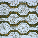 Hexagon pattern wallpaper, Humphrey Spender