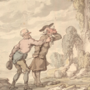 'The Tour of Dr. Syntax in Search of the Picturesque', by Thomas Rowlandson