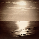 'The Sun at its Zenith - Ocean', photograph by Gustave Le Gray