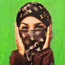 Hassan Hajjaj, 'Saida in Green'
