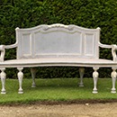 Settee for the Praeneste, Rousham House, William Kent, carved by John Linnell
