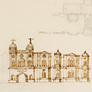 Sketch design for the east front of Esher Place, William Kent