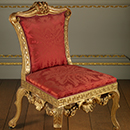 Chair, probably from Lady Leicester's dressing room, Holkham Hall, William Kent