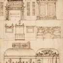 Design for an Italianate interior, John Talman