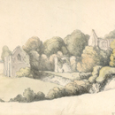 Netley Abbey, by Thomas Rowlandson