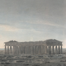 'The Two Great Temples at Paestum', by John Robert Cozens