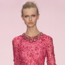 Jenny Packham Shocking Pink, silk chiffon, Spring/Summer 2009. © Jenny Packham