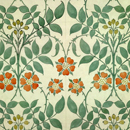 Wallpaper design by CFA Voysey