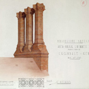 Topographical drawings of chimneys